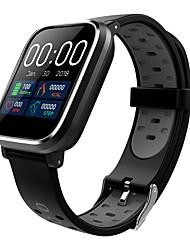 Недорогие -Indear Q58 Умный браслет Android iOS Bluetooth Спорт Водонепроницаемый Пульсомер Измерение кровяного давления / Сенсорный экран / Израсходовано калорий / Длительное время ожидания / Педометр
