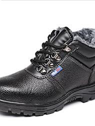 Недорогие -защитные ботинки хлопчатобумажные для обеспечения безопасности на рабочем месте анти-резка предотвращение наводнений анти-пирсинг согреться