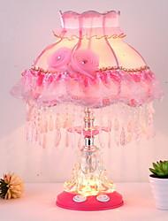 Недорогие -Модерн Новый дизайн / обожаемый Настольная лампа Назначение Девочки Стекло 220 Вольт Розовый