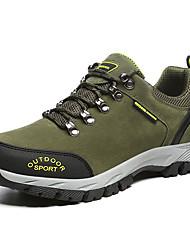 """Недорогие -Муж. Комфортная обувь Свиная кожа Наступила зима На каждый день / Стиль """"Школьная форма"""" Спортивная обувь Для пешеходного туризма Сохраняет тепло Коричневый / Темно-серый / Военно-зеленный"""