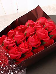 Недорогие -Не персонализированные Ткань Практичные сувениры / Букет роз Невеста / Свидетельница / Пара Подарок / Валентин -