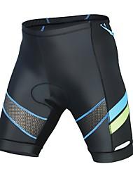 Недорогие -ILPALADINO Муж. Велошорты с подкладкой Велоспорт Шорты / Нижняя часть Быстровысыхающий Мода Лайкра Черный Одежда для велоспорта