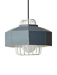 Недорогие -геометрический Подвесные лампы Рассеянное освещение Окрашенные отделки Металл Новый дизайн 110-120Вольт / 220-240Вольт Теплый белый