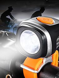 Недорогие -Передняя фара для велосипеда Светодиодная лампа Велосипедные фары LED Велоспорт Водонепроницаемый, Портативные, Регулируется Перезаряжаемая батарея 500-1200 lm Аккумуляторы Белый