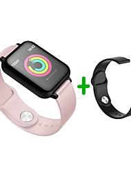 Недорогие -KUPENG B57S Универсальные Умный браслет Android iOS Bluetooth Спорт Водонепроницаемый Пульсомер Измерение кровяного давления Сенсорный экран / Датчик для отслеживания сна / Найти мое устройство