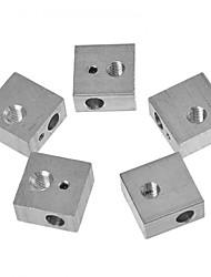 Недорогие -tronxy® 1 шт. алюминиевый блок для 3D-принтера