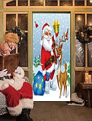 baratos -Porta Adesivos - Autocolantes 3D para Parede Natal / Feriado Interior / Ao ar Livre