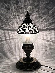 abordables -Métallique Arc / Créatif / Adorable Lampe de Bureau Pour Chambre à coucher / Chambre d'enfants Métal AC100-240V Blanc