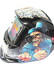Недорогие -солнечный автомат для потемнения сварочный шлем 107 костей король