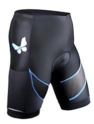 Недорогие -ILPALADINO Жен. Велошорты с подкладкой Велоспорт Шорты Быстровысыхающий Мода Лайкра Черный Одежда для велоспорта