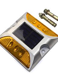 Недорогие -1шт 3 W Светодиодный уличный фонарь Декоративная Желтый 1.2 V Уличное освещение 6 Светодиодные бусины