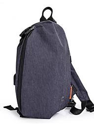 """Недорогие -Муж. Мешки Ткань """"Оксфорд"""" Слинг сумки на ремне Молнии Синий / Черный"""