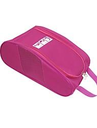 baratos -Caixas e Bolsas para Sapatos Algodão / Poliéster / Pano Demin 1pack Unisexo Preto / Vermelho / Rosa