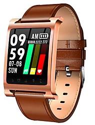 baratos -BoZhuo K6 pro Pulseira inteligente Android iOS Bluetooth Esportivo Impermeável Monitor de Batimento Cardíaco Medição de Pressão Sanguínea Tela de toque Podômetro Aviso de Chamada Monitor de Sono