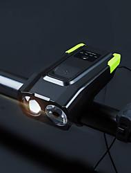 Недорогие -Передняя фара для велосипеда / огни безопасности Двойной LED Велосипедные фары 5 мм лампа / LED Велоспорт Водонепроницаемый, Портативные, Быстросъемный Литий-полимерная 4000 lm