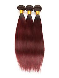 저렴한 -3 개 묶음 브라질리언 헤어 직진 10A 레미 헤어 인모 연장 10-26 인치 인간의 머리 되죠 소프트 최고의 품질 새로운 도착 인간의 머리카락 확장 여성용