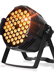 Недорогие -сценическое освещение 54 теплый белый поверхностный свет светодиодный монохромный свет номинальной освещенности фотография освещение автосалон огни