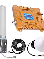 Недорогие -ЖК-дисплей высокой мощности GSM / DC мобильного телефона усилитель сигнала повторитель усилитель сигнала 900/1800 двухдиапазонный
