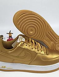 Недорогие -Муж. Комфортная обувь Полиуретан / Синтетика Весна лето На каждый день Кеды Беговая обувь / Для прогулок Дышащий Золотой / на открытом воздухе / Fashion Boots