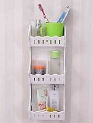 billige -Opbevaring Organisation Kosmetisk Makeup Organizer PVC skum bord Rektangelform Kreativ / Originale / Uncovered