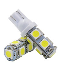 Недорогие -2pcs T10 Мотоцикл / Автомобиль Лампы 2 W SMD 5050 120 lm 9 Светодиодная лампа Лампа поворотного сигнала / Внутреннее освещение Назначение Универсальный Универсальный