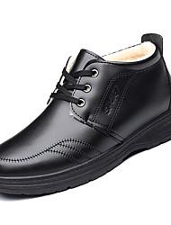 hesapli -Erkek Ayakkabı PU Kış Günlük Oxford Modeli Günlük için Siyah