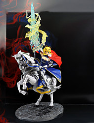 Недорогие -Аниме Фигурки Вдохновлен Fate / stay night Saber ПВХ 30 cm См Модель игрушки игрушки куклы