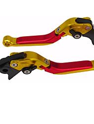 Недорогие -Мотоцикл Рычаг выключения сцепления С тормозным кабелем Алюминий 7075 1 пара (правая и левая) Назначение Honda Все года