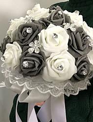 """Недорогие -Свадебные цветы Букеты Свадьба пена 8,66""""(около 22см)"""