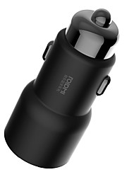 Недорогие -Xiaomi iPad / Samsung / Apple Автомобильное зарядное устройство 2 USB порта для 5 V