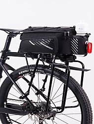 billiga -ROCKBROS 9-12 L Väska till pakethållaren / Cykelväska Vattentät, Cykel, Bärbar Cykelväska Terylen Cykelväska Pyöräilylaukku Andra liknande storlek telefoner Cykel