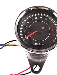 baratos -C-1001 Motocicleta Tacômetro / Medidor de temperatura da água / Hodômetro para motocicletas Todos os Anos Calibre Antiestético / Á Prova-de-Água / Filtro Solar