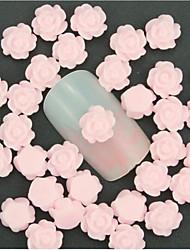 Недорогие -50 pcs Многофункциональный / Лучшее качество Экологичный материал Стразы для ногтей Назначение Цветы маникюр Маникюр педикюр Повседневные Милая / Мода