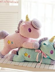 Недорогие -единорог Семья Мягкие и плюшевые игрушки удобный Фланель Все Игрушки Подарок 1 pcs