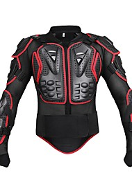 halpa -Moottoripyörän suojavaatetus varten Takki Men's PE / EVA Resin / Net Fabric Suoja / Kulutuksen kestävä