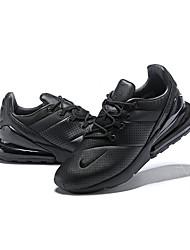 Недорогие -Муж. Легкие подошвы Кожа Весна & осень Спортивная обувь Для фитнеса Дышащий Черный / Атлетический