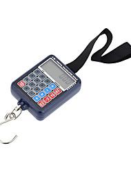Недорогие -50 кг цифровой весы ручной портативный мини электронный баланс висит крючок карманные весы камера калькулятор