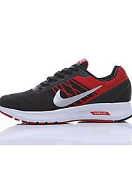Недорогие -Муж. Комфортная обувь Эластичная ткань Весна & осень Спортивная обувь Дышащий Черный / Красный / Атлетический / Амортизирующий