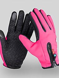 Недорогие -Спортивные перчатки Перчатки для велосипедистов Водонепроницаемость С защитой от ветра Сохраняет тепло Перчатки для тач-скрина Холодная погода Зима Нейлон Велосипедный спорт / Велоспорт Мотобайк