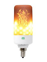 Недорогие -YWXLIGHT® 1шт 5 W 400-500 lm Круглые LED лампы 99 Светодиодные бусины SMD 3528 Декоративная Тёплый белый 85-265 V