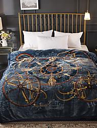 Недорогие -Одеяла, Классика Целлюлозная ткань / Полиэфир / полиамид Сгущать одеяла