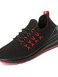 זול -בגדי ריקוד גברים נעלי נוחות Tissage וולנט אביב יום יומי נעלי אתלטיקה ריצה נושם שחור ולבן / שחור אדום / שחור / כחול