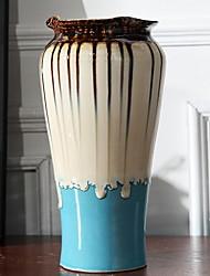 Недорогие -Вазы и корзины нерегулярный Керамика Художественный Классический / Одноместный Ваза