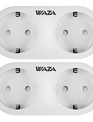 Недорогие -WAZA Smart Plug WAZA SP15 для Повседневные / Гостиная / Спальня Smart / Контроль APP / Экологичные 100-240 V