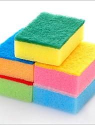 billige -Køkken Rengørings midler Svamp Svampe og skrubbeuld Simple / Værktøj 5pcs