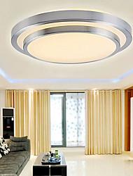 baratos -Apliques de Tecto Luz Descendente Galvanizar PVC Acrílico Estilo Mini, LED 90-240V / 110-120V / 220-240V Branco Quente / Branco