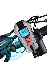 Недорогие -Светодиодная лампа Велосипедные фары велосипед свечения лампы Передняя фара для велосипеда Велосипедный рог Велоспорт Водонепроницаемый Быстросъемный Прочный Перезаряжаемая батарея 1000 lm