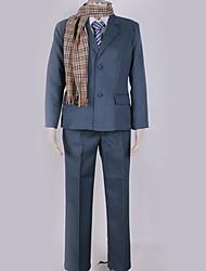 Недорогие -Вдохновлен Принц тенниса Rikkai Аниме Косплэй костюмы Школьная форма Однотонный Пальто / Блузка / Кофты Назначение Муж. / Жен.