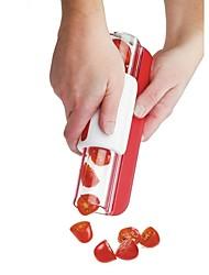 baratos -zip slicer tomate cortador de uva frutas ferramentas salada fabricante bolo decoração