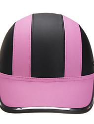 Недорогие -черный& розовый анти-ультрафиолетовый мотоцикл велосипед скутер половина шлем бейсболка каску